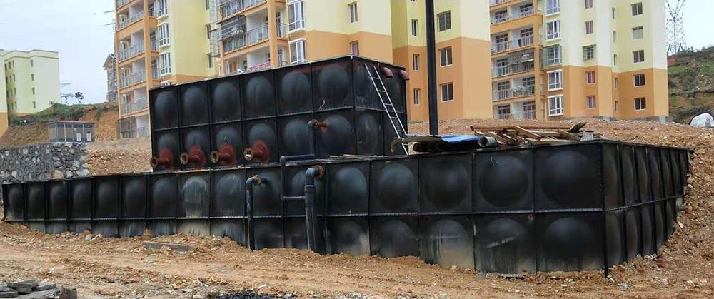 地埋式镀锌不锈钢水箱