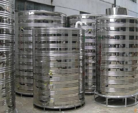 不锈钢圆形水箱
